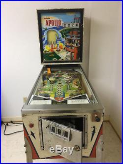 Vintage Pinball Machine 1967 Apollo Pinball Machine