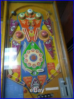 Vintage Rare 1950 JEANIE woodrail Pinball Machine
