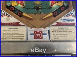 Vintage Williams Aztec Pinball Machine-Works Great