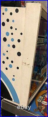 Vintage Williams Sky Lab NASA Space Themed Art Pinball Arcade Machine For Repair