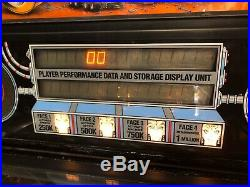 Vintage Williams The Machine Bride of Pin Bot Pinball Machine