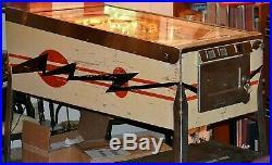 Vintage Working 1970 Gottlieb's Flip A Card Pinball Machine