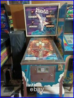 Vintage pinball machines for sale