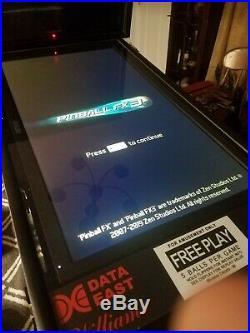 Virtual Pinball Arcade Coin Op Machine in Ohio