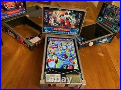 Virtual Pinball Table cabinet machine for iPad Mini with Plunger and Tilt
