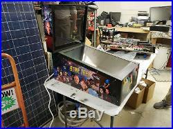 Virtual pinball machine, pinball x front end, star trek theme