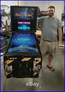 Virtual pinball machine, pinup popper, vp9, vpX, FP, PBFX2 and PBFX3, subwoofer