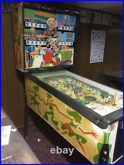 Vtg Retro 1973 Hee Haw Chicago Coin Pinball Machine Original Looks Plays Good