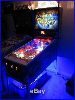 WHITEWATER Pinball Machine beautiful
