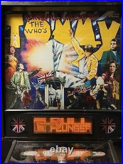 WHO'S TOMMY THE WHO PINBALL WIZARD MACHINE DATA EAST ARCADE Local Pickup Only