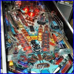 WILLIAMS TERMINATOR 2 PINBALL MACHINE Great Shape 1991 Arcade Game
