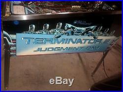 WILLIAMS TERMINATOR 2 PINBALL MACHINE LEDs