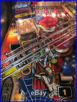WWF Royal Rumble Pinball Machine Data East Multiball/Shaker/Multilevel/Wide Body