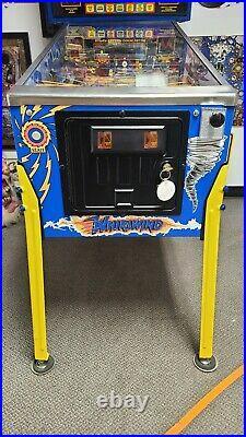 Whirlwind pinball machine