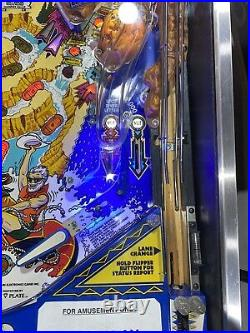 White Water Pinball Machine Williams Coin Op Arcade 1993 Free Shipping LEDs