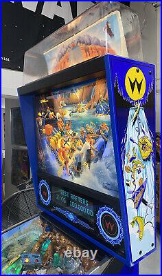 White Water Pinball Machine Williams High End Pins Restored Free Shipping LEDs