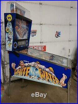 White Water pinball machine