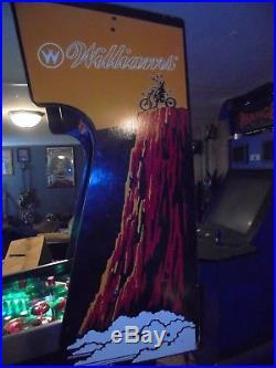 Williams Banzai Run Pinball Machine1988pat Lawlorvery Rarehard To Findl@@k