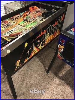 Williams COMET Pinball Machine Working And Shopped Wirh New Bands LED Arcade