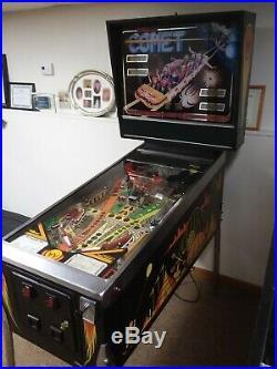 Williams COMET arcade pinball machine