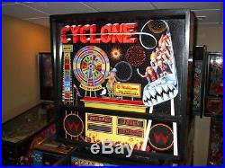 Williams CYCLONE Collector Classic Arcade Pinball Machine