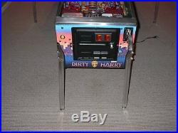 Williams DIRTY HARRY Collector Classic Arcade Pinball Machine