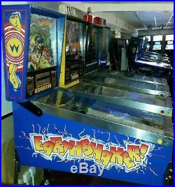 Williams EARTHSHAKER arcade pinball good working order