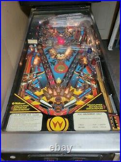 Williams F-14 TOMCAT pinball machine 1987