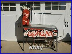 Williams Gorgar Pinball Machine Fully Working