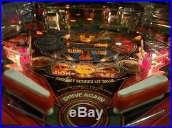 Williams High Speed Pinball Machine
