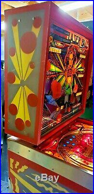 Williams Laser Ball Pinball Machine, Atlanta