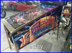 Williams Medieval Madness pinball machine, Original, collector quality new parts