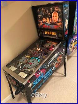 Williams Original Star Trek The Next Generation Pinball Machine Perfect Conditio
