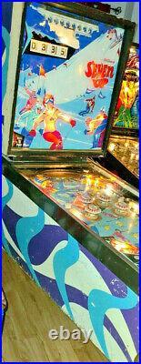 Williams Pinball Machine Seven Up Gameroom Man Cave Free Shipping