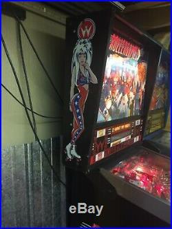 Williams Rollergames Pinball Machine