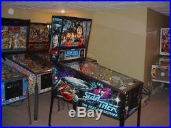 Williams STAR TREK THE NEXT GENERATION Collector Classic Arcade Pinball Machine