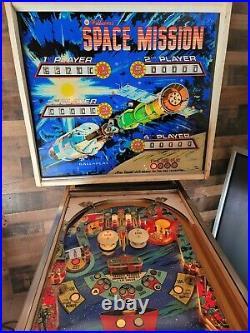 Williams Space Mission Pinball Machine, Atlanta (#505) (Working)