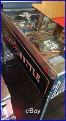 Williams Space Shuttle Pinball Machine