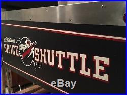 Williams Space Shuttle Pinball Machine Beautifully Restored