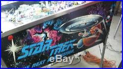 Williams Star Trek Next Generation Pinball machine Top quality fully shopped