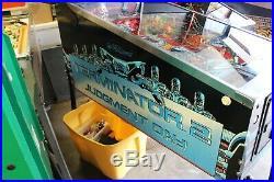 Williams T2 Terminator 2 Judgment Day Pinball Machine Nice Condition