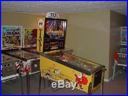 Williams TAXI Retro Classic Arcade Pinball Machine