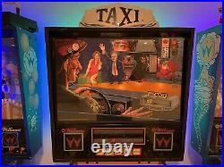 Williams Taxi Pinball Machine