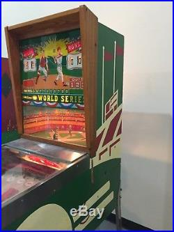 Williams World Series Baseball Pitch and Bat Pinball Arcade Machine Hard to Find