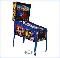 Willy Wonka Limited Edition Pinball Machine Authorized Jersey Jack Dealer