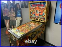 Wizard Tommy Pinball Machine Coin Op Bally 1975 FULLY OPERATIONAL
