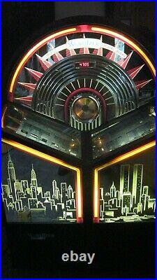 Wurlitzer New York WTC bubbler CD100 jukebox great sound and a beauty