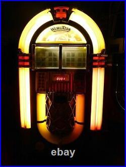 Wurlitzer OMT Princess 1015 Bubbler CD100 wall or table jukebox refurbished rare