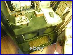 Wurlitzer rare black Onyx 1015 OMT cd bubbler jukebox looks and plays great