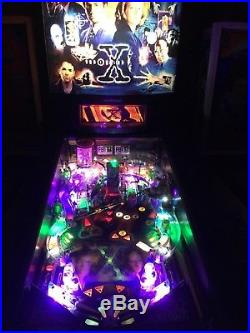 X Files Pinball Machine Super Nice Leds $399 Ships Mulder Scully